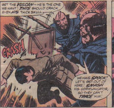 Geez, Spock, it's a pretty standard stunt.