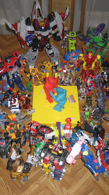 I didn't intentionally set Leobreaker next to Voltron, but I may have subconsciously segregated the Beast Wars guys.