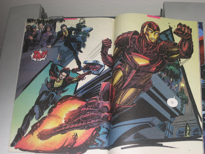 This double-page spread wouldn't fit in my scanner!