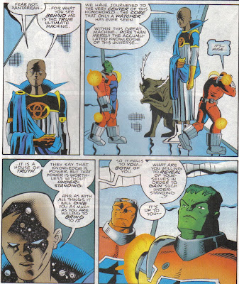 I think we've seen Watchers with pets like that before, back in the old Captain Marvel book.