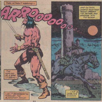 Hey, an 'arrrooo'!