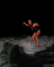 Surf's up in Powell at Midnight