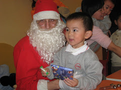 Santa Chris with Xiao Yao