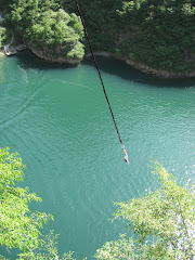 Bungee Jumping in LongQing Gorges