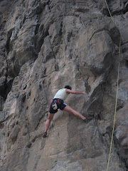 Rock climbing in Yang Shuo