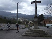 Chegada a Igreja de Santa Eulália