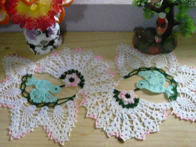 Carpeta Colibris~   ~ Crochet Style ~
