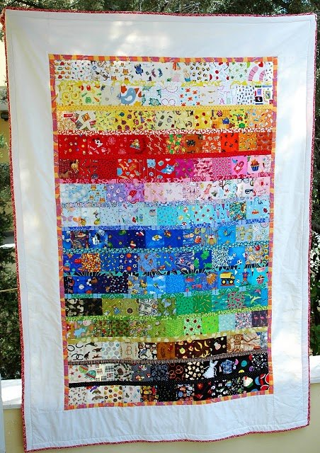 I Spy Quilt: 4.5″ Blocks Instructions « Mad Cat Art Studio Blog