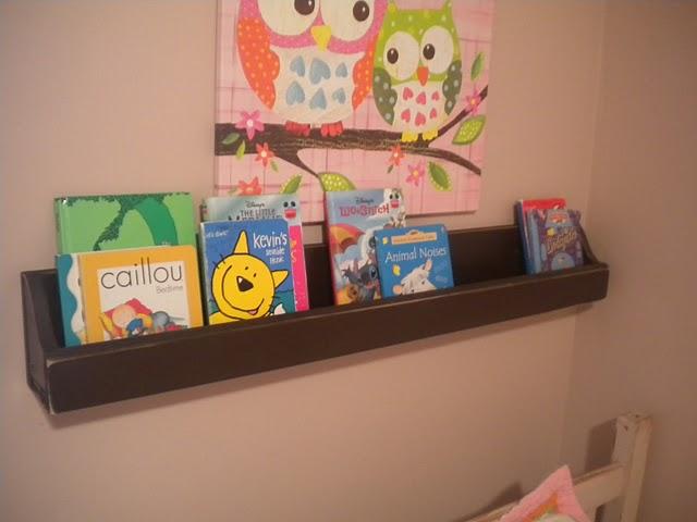 Little Inspirations: DIY Front Facing Bookshelf
