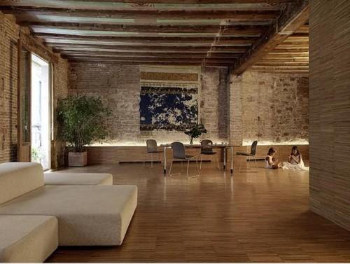 Architectural Journal Cross Shaped Volume Interior Design