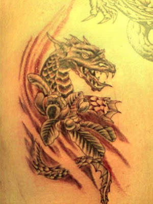 chinese tattoo dragon