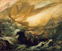 The Flying Dutchman by Albert Pinkham Ryder.