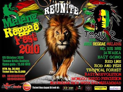 Malang Reggae Fest 2010