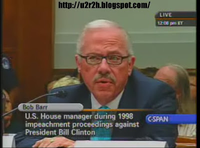 bob barr bush impeachment hearings house judiciary