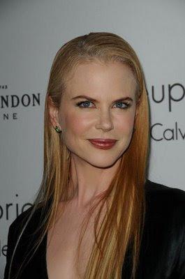 Nicole Kidman Straight Hairstyle