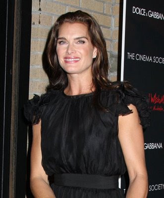 Brooke Shields Brown Hairstyle