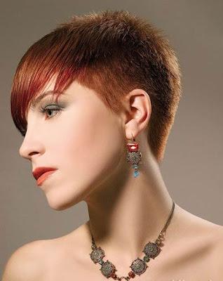 short mohawk hairstyle. hot natural short mohawk