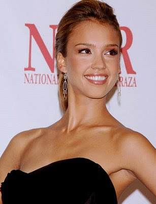 Actress Jessica Alba Updo Hairstyle Visit Here For More Celebrity Hairstyles