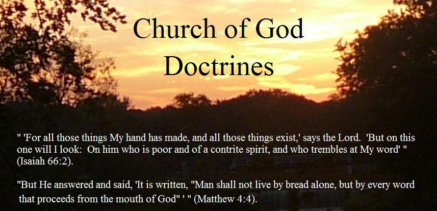 Church of God Doctrines