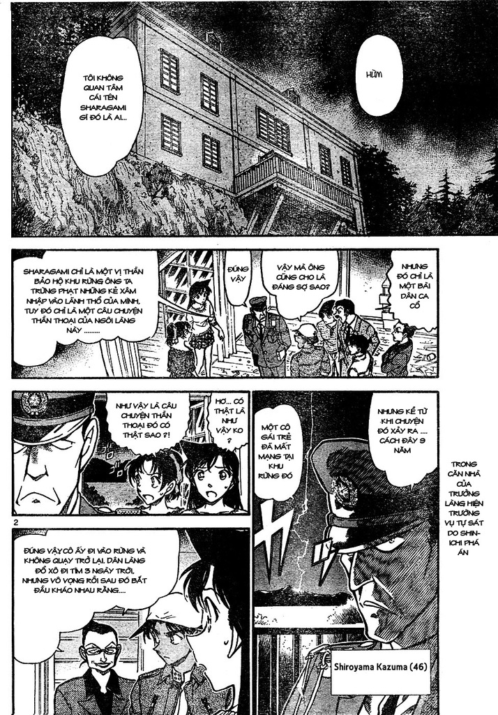 Detective Conan - Thám Tử Lừng Danh Conan chap 648 page 2 - IZTruyenTranh.com