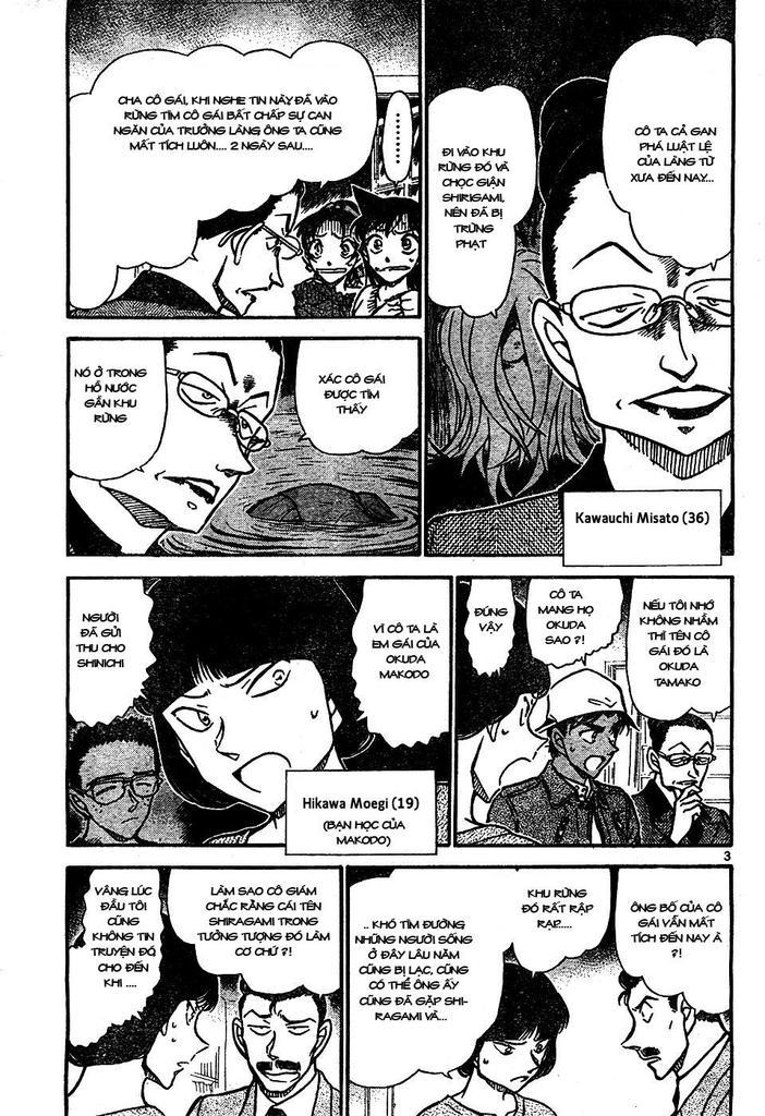 Detective Conan - Thám Tử Lừng Danh Conan chap 648 page 3 - IZTruyenTranh.com