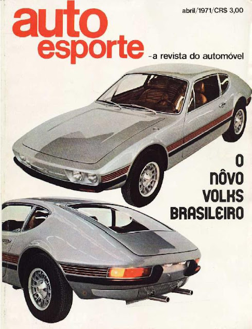 Capa de Revista Auto Esporte de abril de 1971