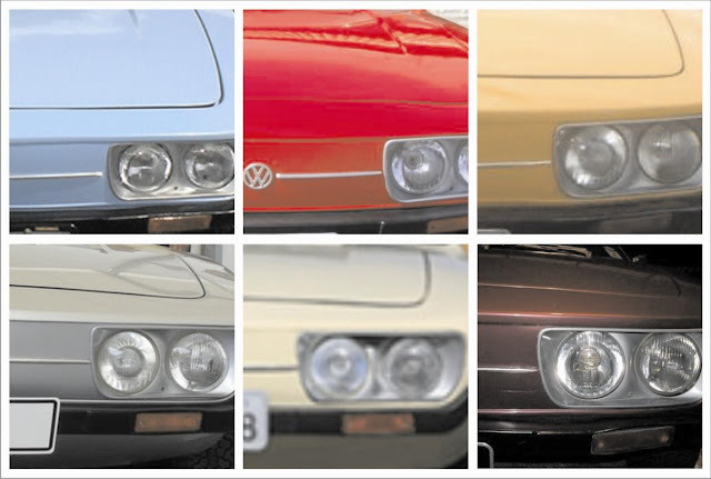 Cores do Volkswagen SP2