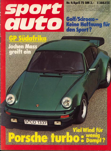Volkswagen SP2 na revista SportAuto