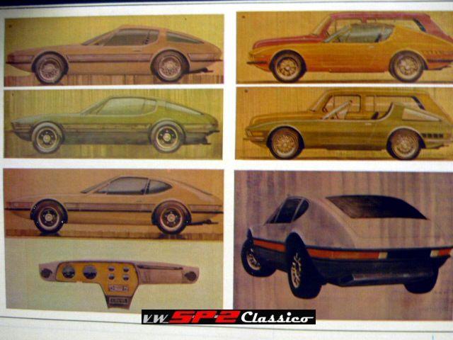 Fotos antigas do Volkswagen SP2