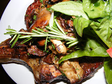 RIB STEAK AND MUSHROOM FRICASSEE