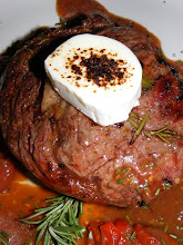 GRILLED RIBEYE WITH CHEVRE