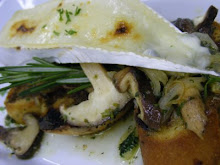 BRIE ON MUSHROOM FRICASSEE