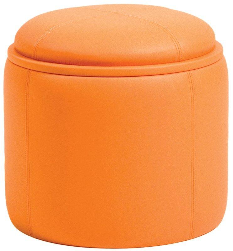 Maggies Room Pkolino Orange Storage Ottoman
