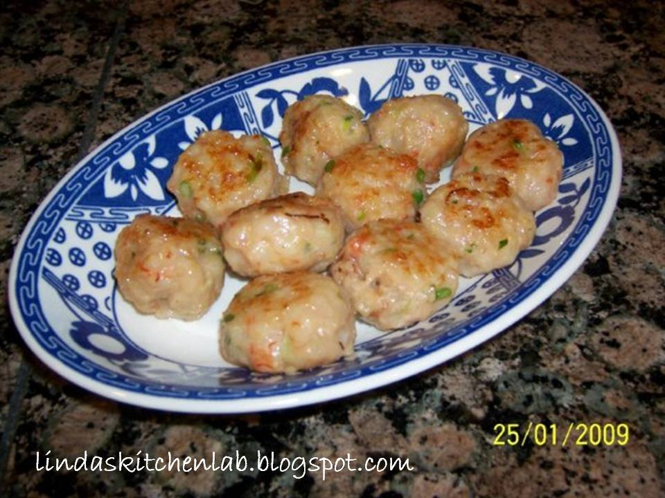 how to make prawn balls chinese