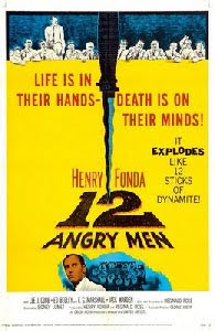 Cartaz original de Doze Homens e uma Sentença