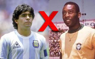 Maradona x Pelé
