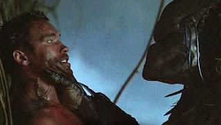 Arnold Schwarzenegger e o Predador
