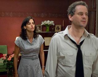Dan Stulbach e Mariana Lima