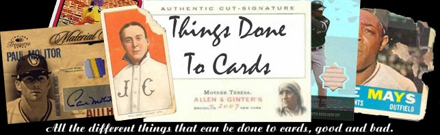 Things Done To Cards