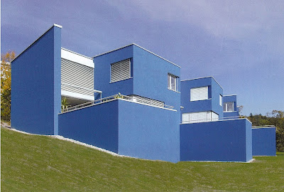 Couleur et architecture contemporaine for Couleur facade contemporaine