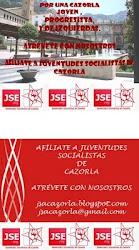 Afiliate a Juventudes Socialistas de Cazorla
