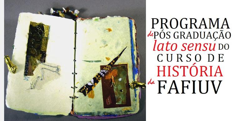 Programa de Pós Graduação História FAFIUV