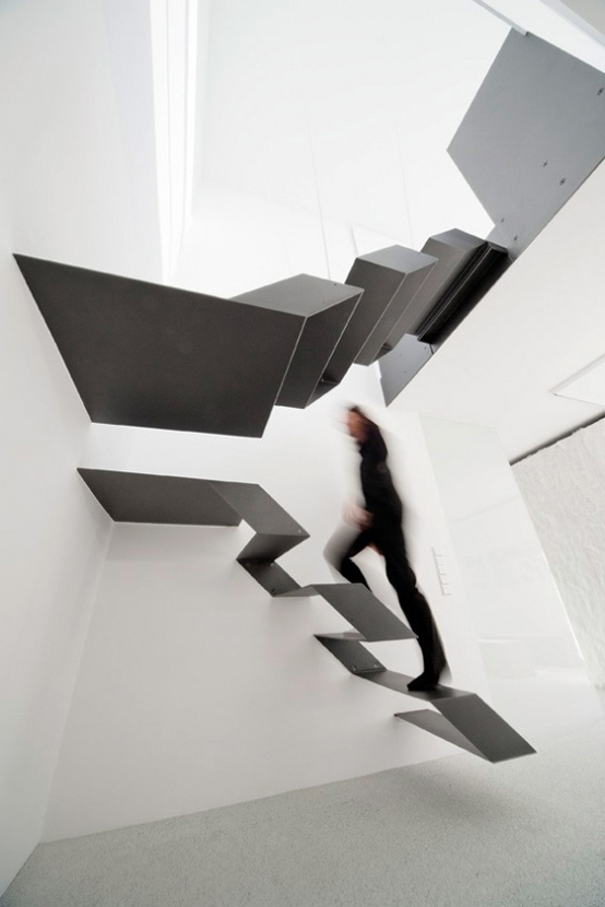 Modern Cool Floating Staircase 1modern Cool Floating Staircase 1