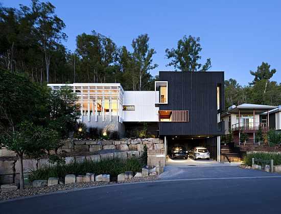 Archi choong 2010 award winning cozy modern organic home for Award winning modern house plans