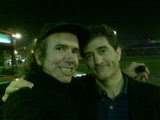 "Con Guillermo Fesser de ""Gomaespuma"""