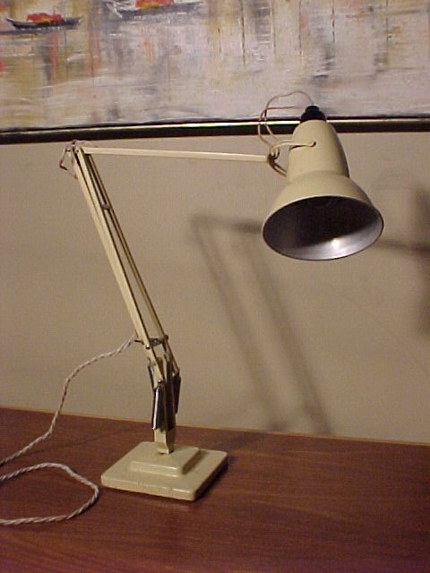 Time Capsule This Is Now Sold Original Vintage Herbert Terry Anglepoise Table Lamp