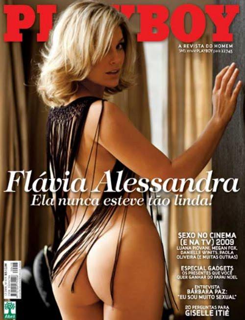 Flavia Alessandra - Playboy de Dezembro - Fotos
