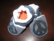 Leather Peace Shoes