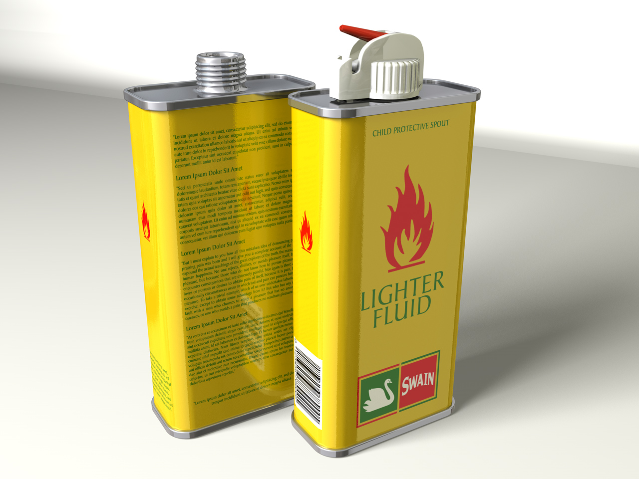 How to refill the lighter fluid in a.