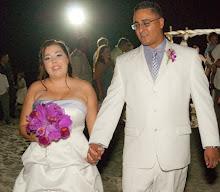 My daughter Jamie & her husband, Eddie